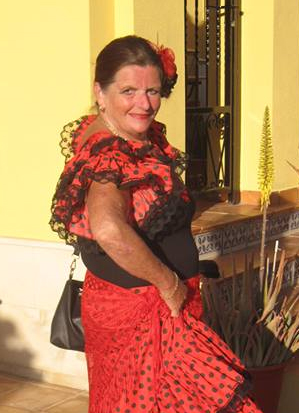 Sandra in Spain - Flamenco