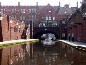 Birmingham is famous for its canals - and Fox News Channel's claim that it's 'A Muslim city!'