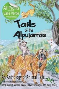 Tails of the Alpujarras, with cover artwork by Charlotte Moore